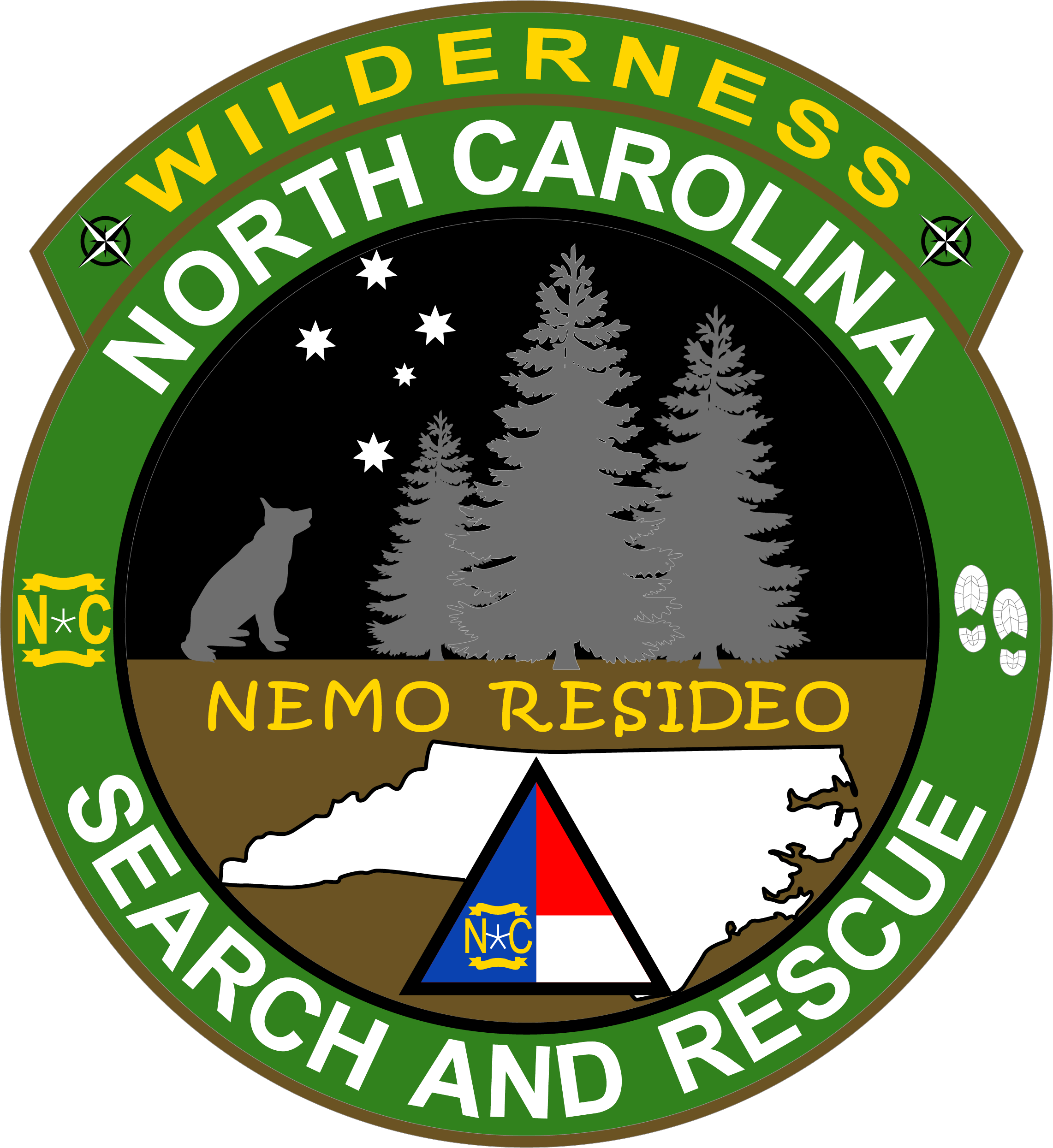 Wilderness Search and Rescue patch