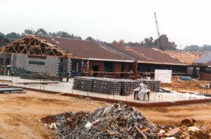 Dan River Prison Work Farm under construction