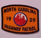 1929 orange patch