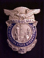Patrolman Badge