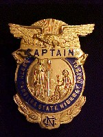 Captain's badge