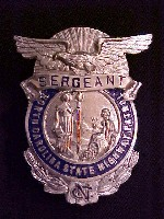 Sergeant badge