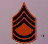 Technical sergeant stripes