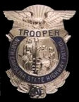 Trooper badge