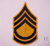Yellow sergeant stripes