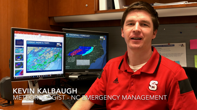 Kevin Kalbaugh delivers video forecast