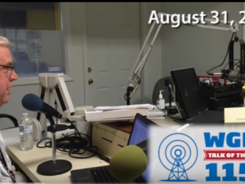 CFSS Deputy Director Mike Anderson interview with WBGR