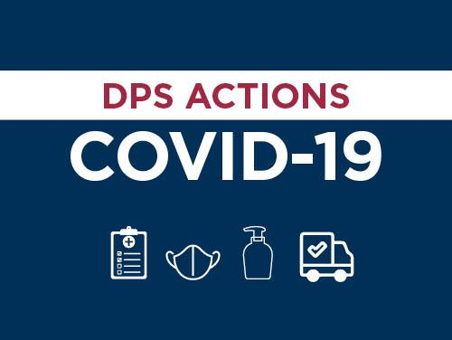 DPS actions COVID-19 grahic