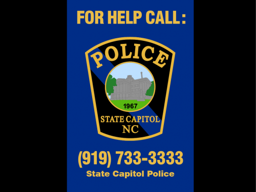 """"""" For Help Call"""" poster"""