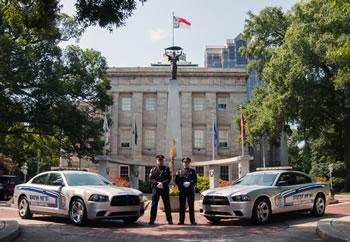 State Capitol Police officers & vehicles