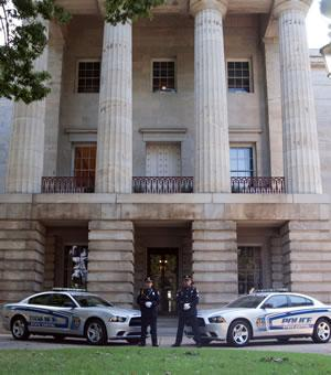 State Capitol Police Officers at a government building