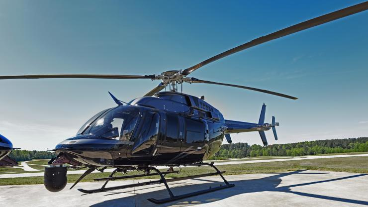 NC State Highway Patrol Bell 407  helocopter