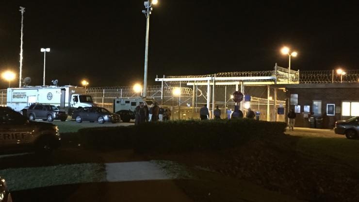 Law Enforcement presence at Neuse CI