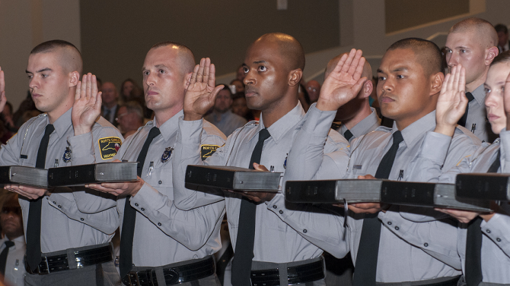 SHP basic training grads take oath