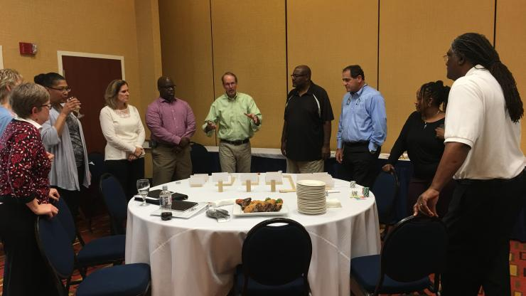 Juvenile facilities directors at Model of Care training