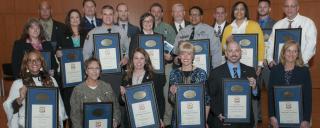 employees holding awards