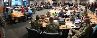 Hurricane Dorian Situation Room - State Emergency Operations Center