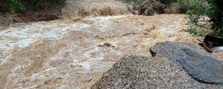 WNC flood scene