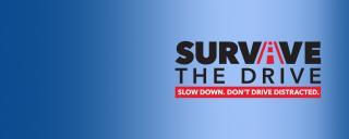 Survive the Drive web banner