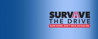 Survive the Drive web banner
