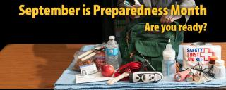 September is Preparedness Month