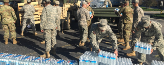 NC National Guard assists with water
