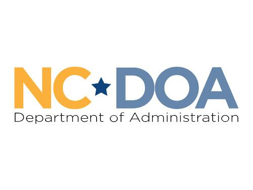 Logo that reads NCDOA, Department of Administration