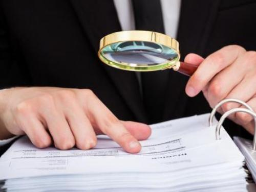 examining a public record