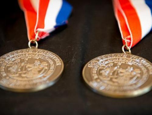 volunteer award medals