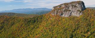 Table Rock Linville Gorge Fall Color