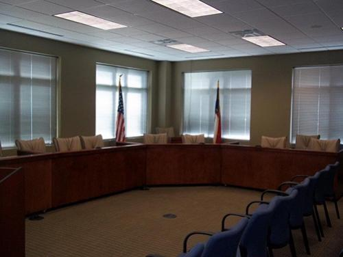 Commission room