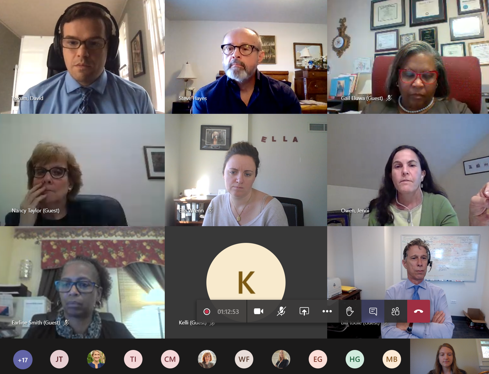 Monthly Connect roundtable discussion