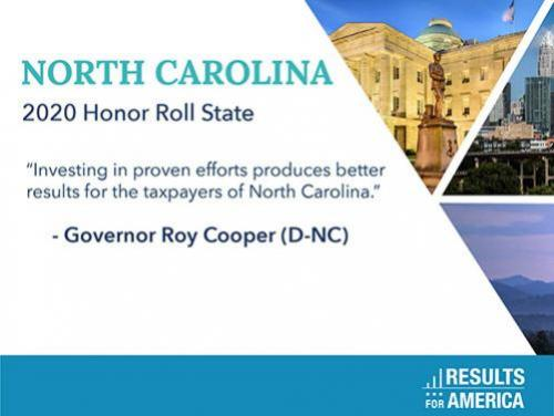 NC Honored by Results for America
