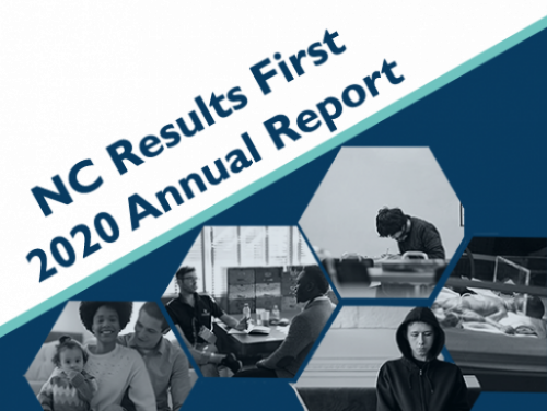 NC Results First Annual Report cover page