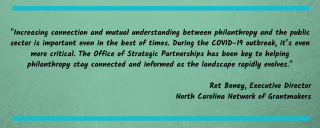 NC Grantmakers quote