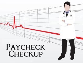 paycheck checkup art