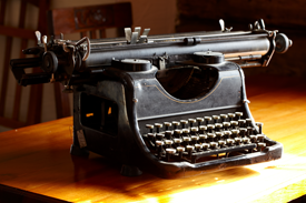 Photo of old Typewriter