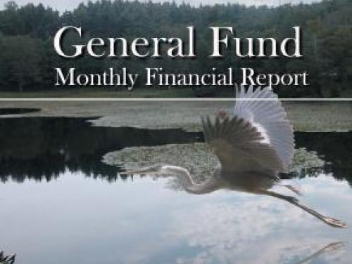 May 2018 General Fund Monthly Report Cover
