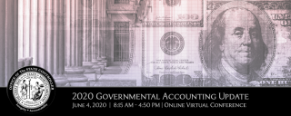 2020 Governmental Accounting Webinar Conference