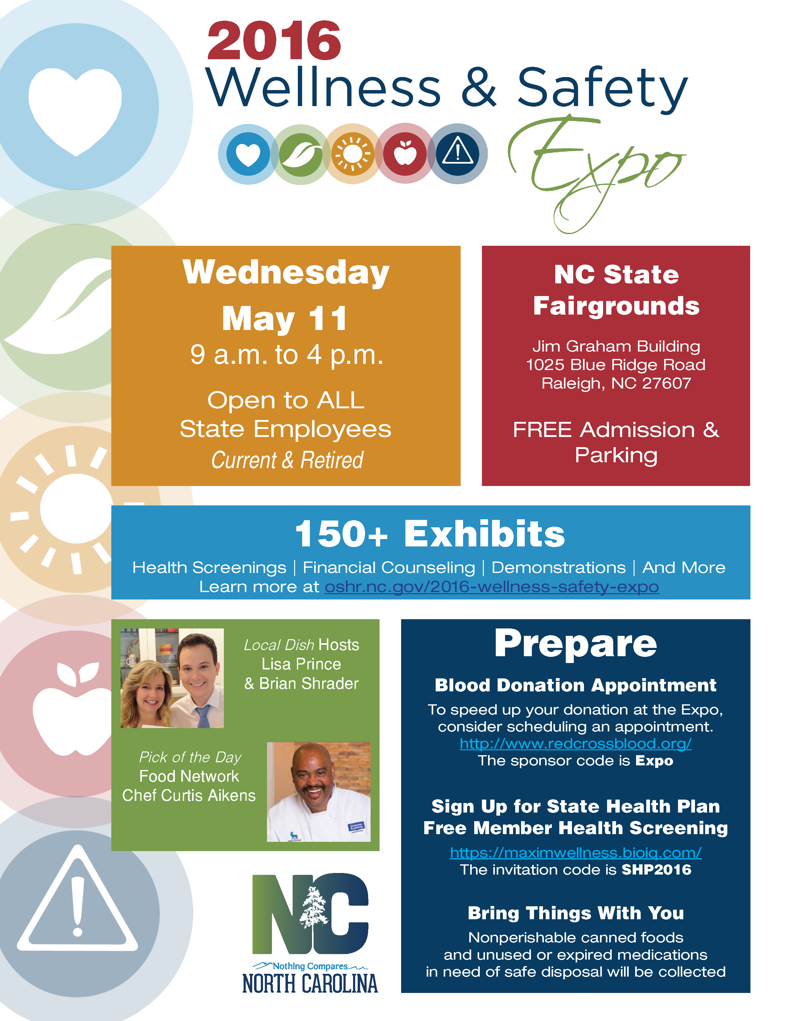 2016 Wellness Safety Expo Nc Office Of Human Resources