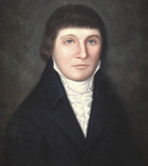 painted portrait of Richard Caswell