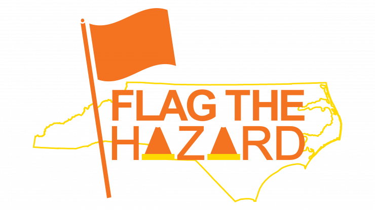 Flag the Hazard logo
