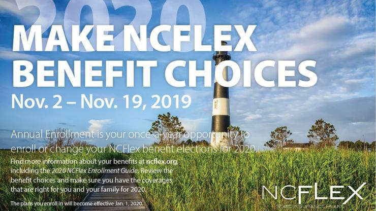 Ncflex 2020 Open Enrollment Nc Office Of Human Resources
