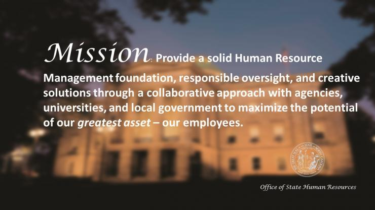Our Mission Nc Office Of Human Resources