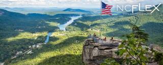 A view from Chimney Rock