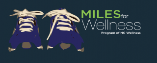 Miles for Wellness graphic