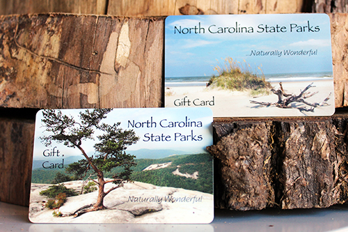 North Carolina State Park gift cards