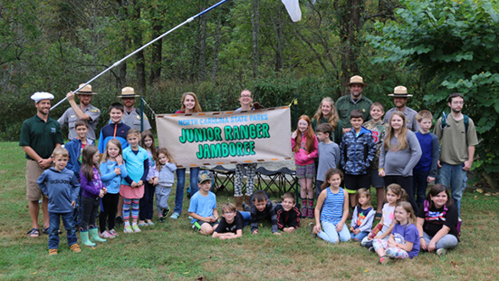 Junior Ranger Jamboree 2019 - Group photo