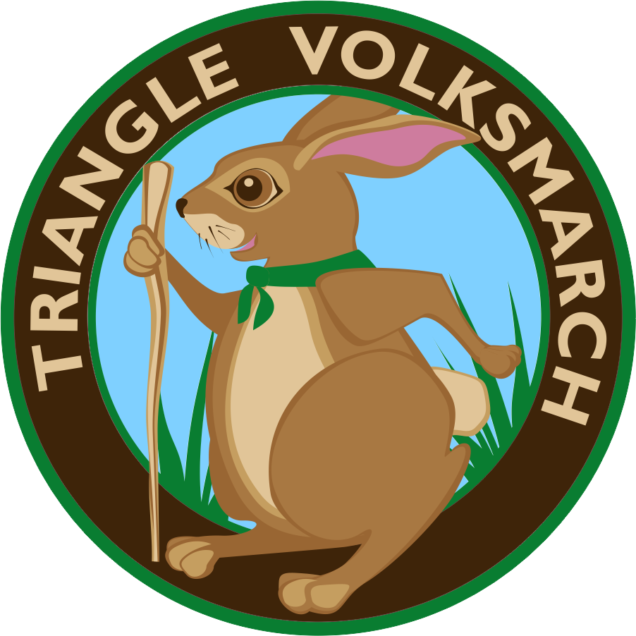 Triangle Volksmarch 2016 patch