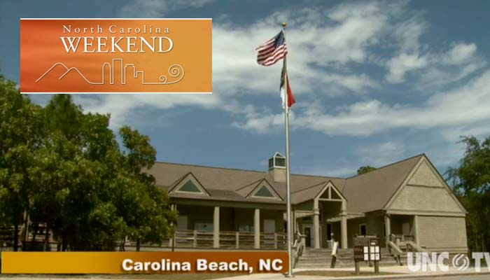 screen image of NC Weekend graphic